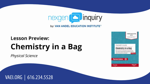 Chemistry in a Bag Lesson Preview