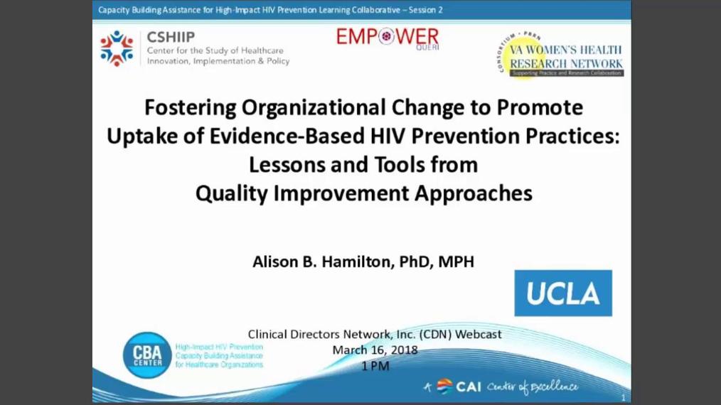 031618 Fostering Organizational Change - Dr. Alison Hamilton.mp4