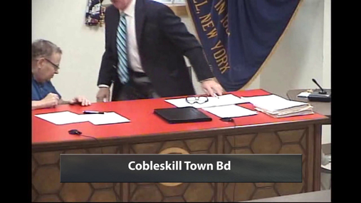Cobleskill Town Bd -- 14 May 2018