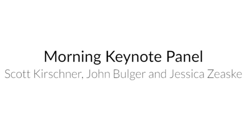 5. Day 1 Keynote Panel