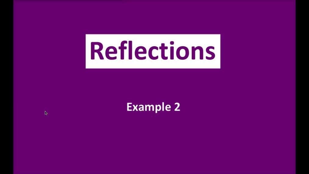 Math 8 Q3 NEW - Reflections E2.mp4