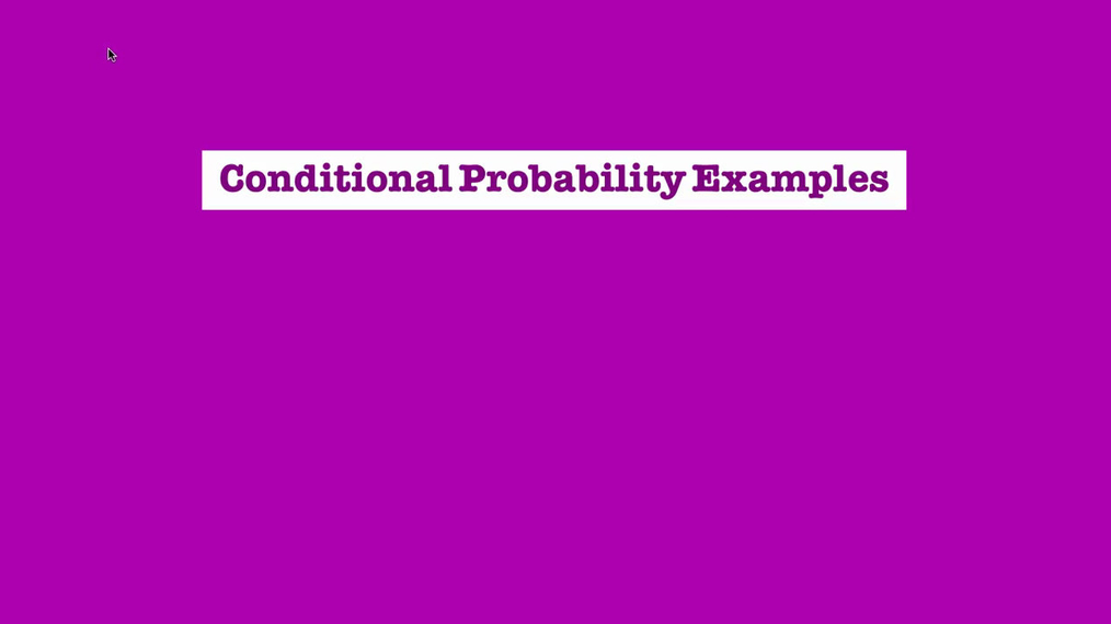 Conditional Probability Examples.mp4