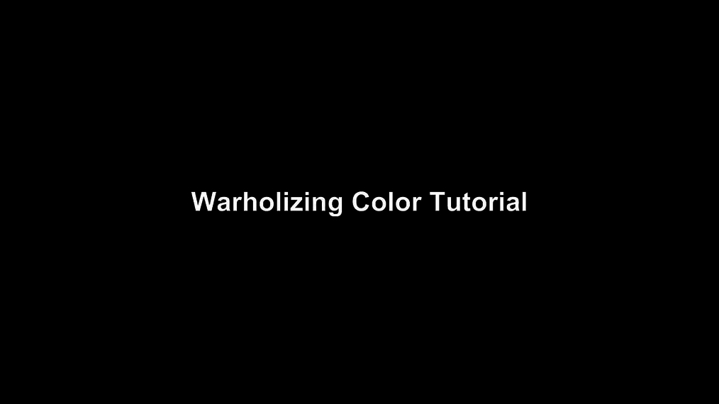 Warholizing Color Tutorial in Pixlr.mp4