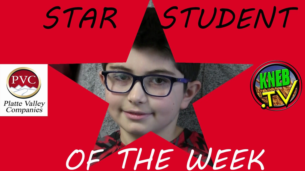 Kolton Aguallo- Star Student of the Week