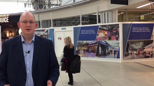 Changes to the Departure Lounge - Feb 18