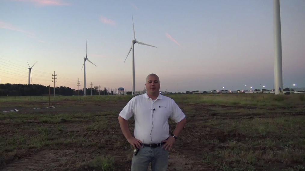 Q&A: Sunrise on a Wind Farm
