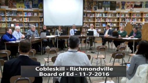 CRCS Board of Ed -- 11-7-16