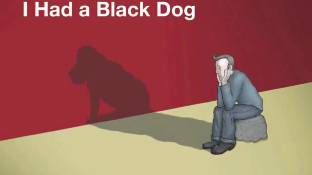 I had a black dog, his name was Depression