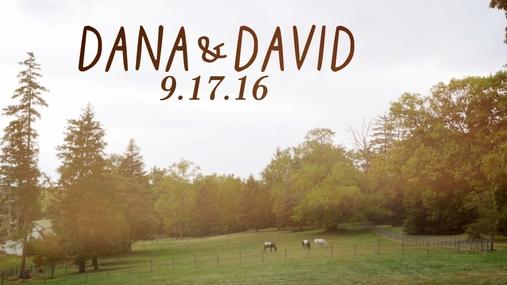 Dana and David