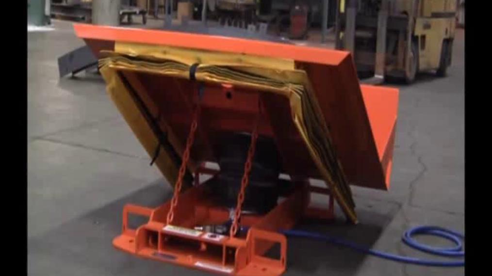 Pneumatic Tilt Table