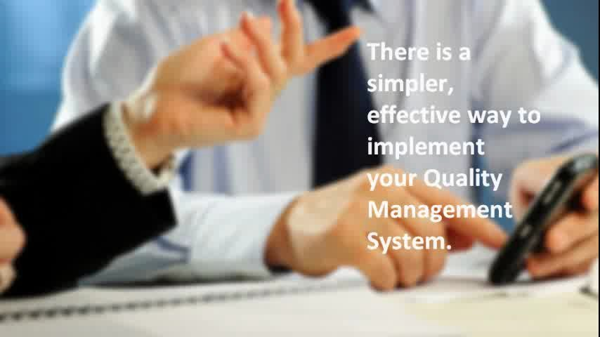 Prepare your company's quality policy, quality objectives and main process flow-chart