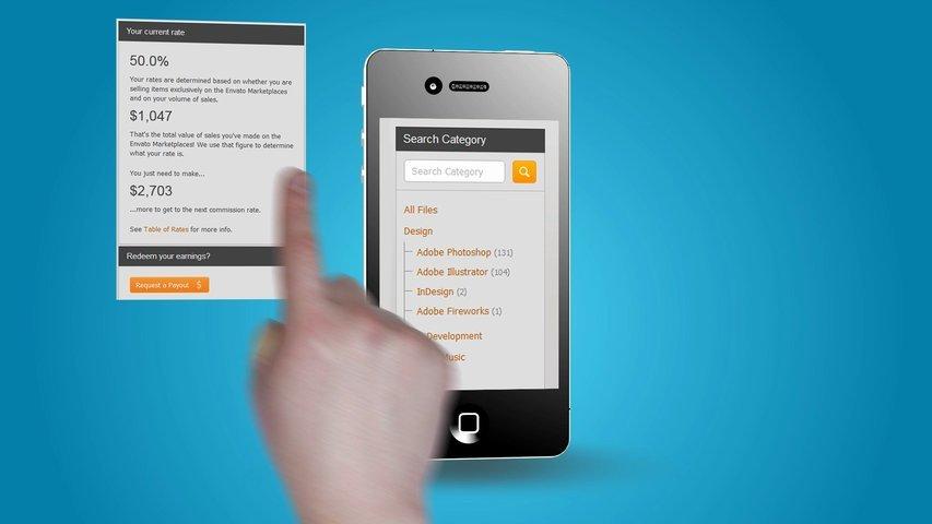 Create iPhone App promo video