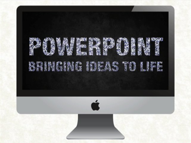 Design your powerpoint presentation