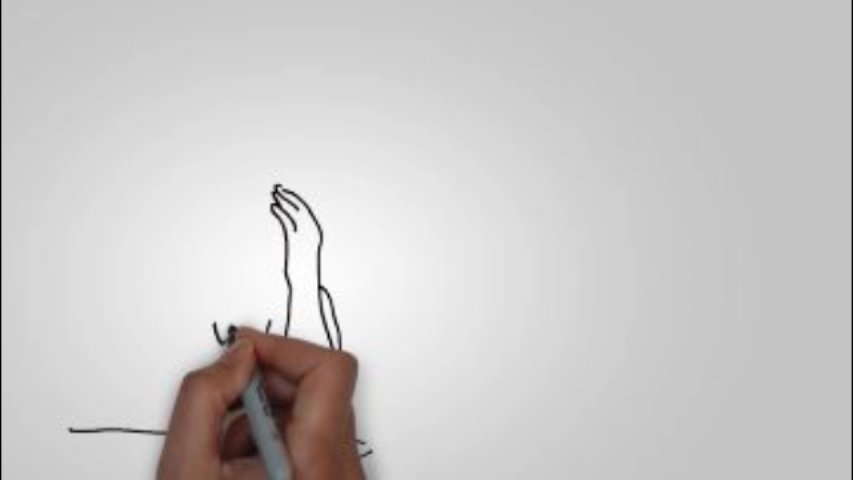 Create a whiteboard video doodle animation