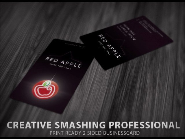 Design an creative smashing professional ready to print business card with revisions