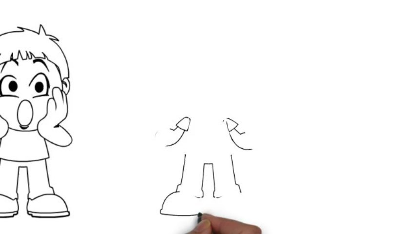 Sell you 10 SVG whiteboard animation characters to use in Sparkol / Videoscribe