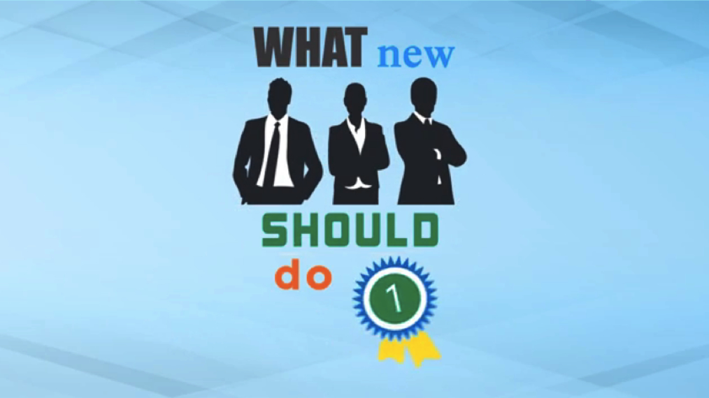 What New Leaders Should Do First