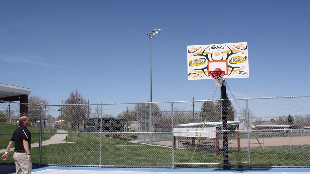 Carpenter Center Gets New Hoops