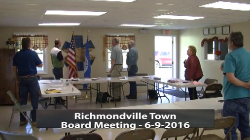 Richmondville Town Board June-9-2016