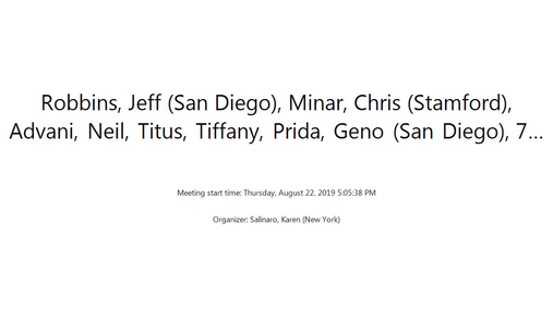 Robbins, Jeff (San Diego), Minar, Chr. . . - Thursday, August 22, 2019 5.05.38 PM.mp4