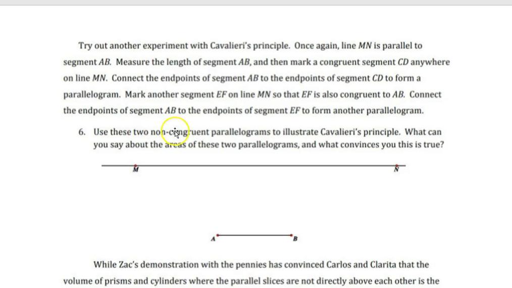 Precalc Cavalieri's Principle Guided Notes Part 2.mp4