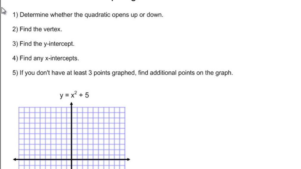 Graphing Quadratics.mp4