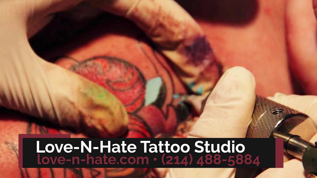 Tattoo Shop in Lewisville TX, Love-N-Hate Tattoo Studio