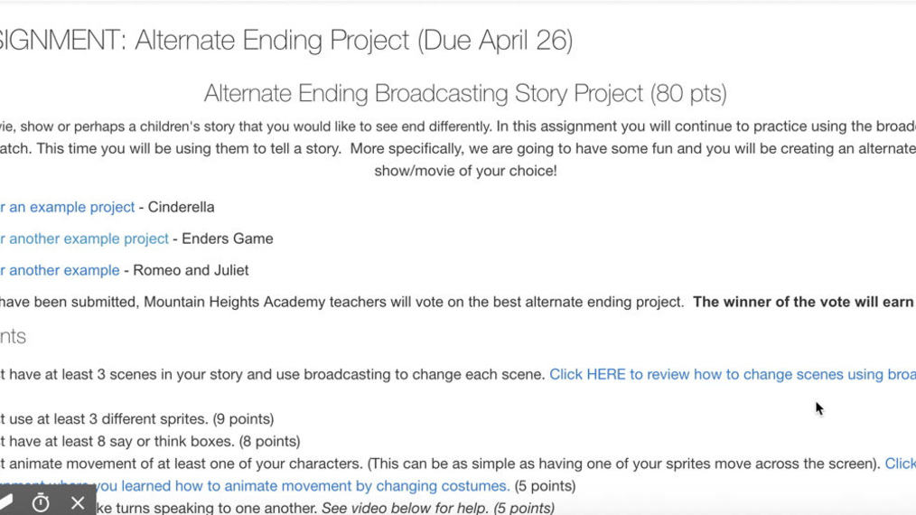 Alternate Ending Project Help.mp4