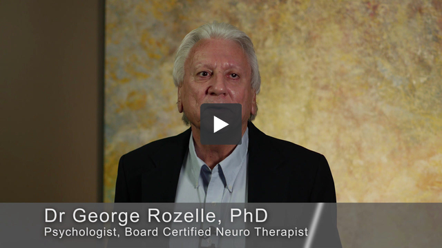 Meet Dr. George Rozelle, Board Certified Neuro Therapist, Psychologist and concussion expert.