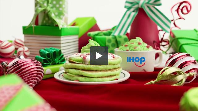 IHOP pancake trailer