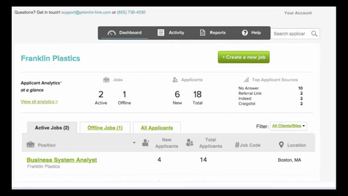 Engage Hiring Solution Demo: The Hiring Thing