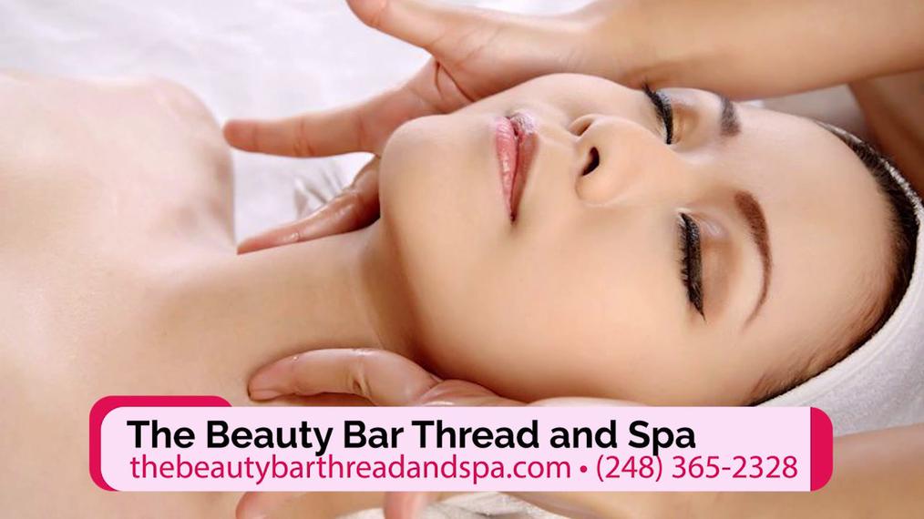 Threading in Auburn Hills MI, The Beauty Bar Thread and Spa