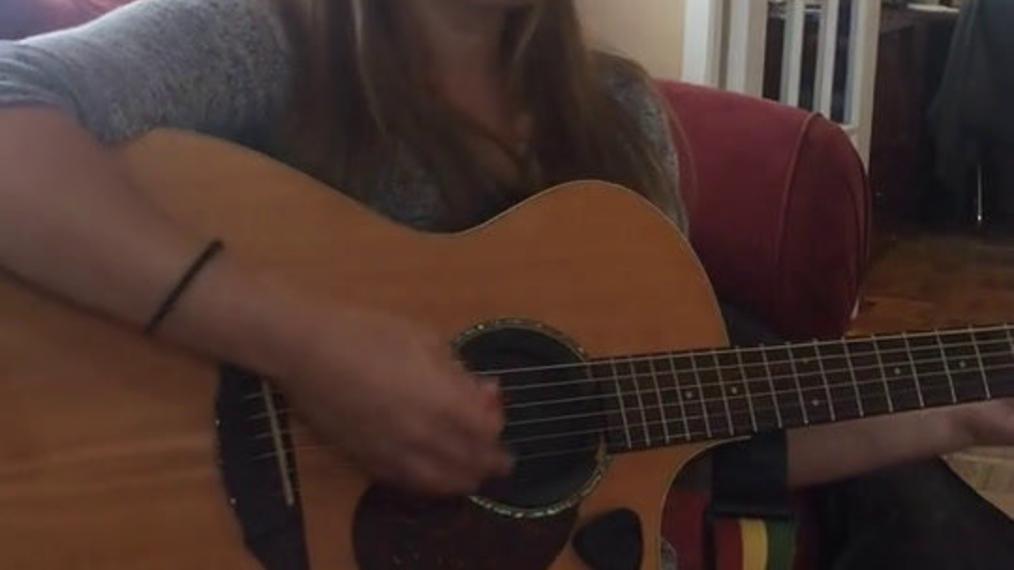 Guitarist F.R.