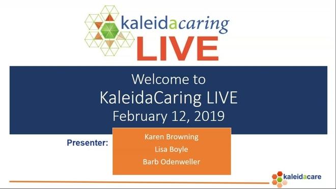 KaleidaCaring LIVE 2019-02