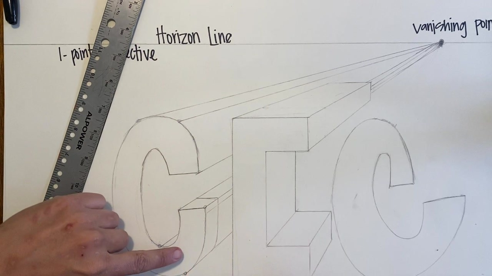 1 point perspective part 2 name demo
