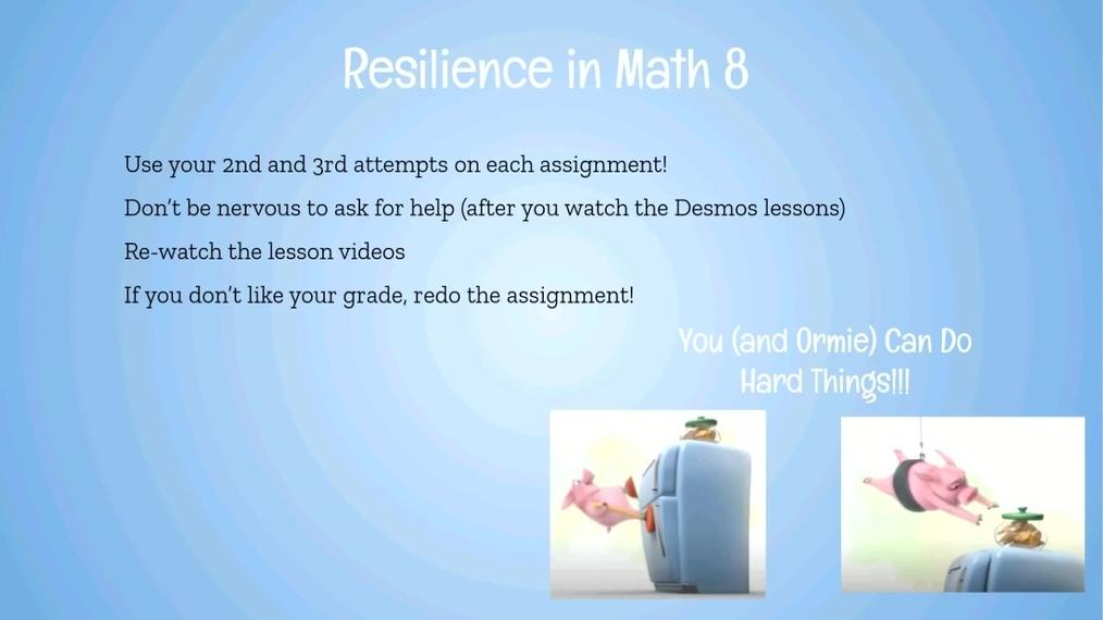 Math 8 Study Session.Williams