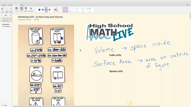 Brush Up Workshop A10 - Surface Area and Volume.mp4
