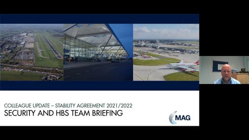 Security & HBS Team Briefing 07.04.21