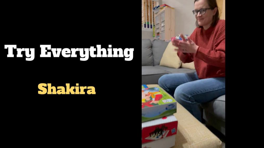 "ASL Teacher Music Video - ""Try Everything"""
