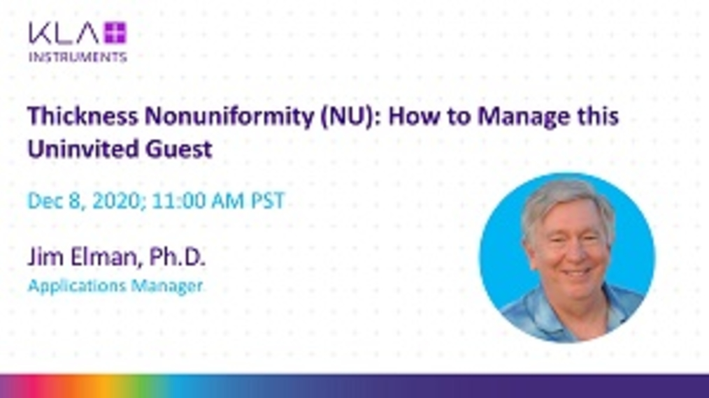 Thickness Nonuniformity (NU)_ how to manage this uninvited guest